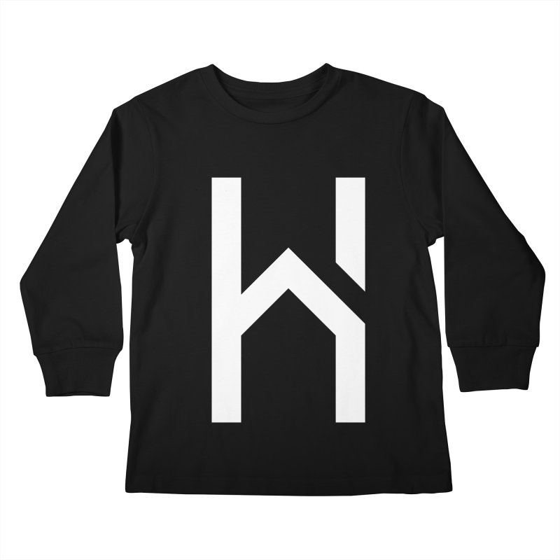 The H in House Kids Longsleeve T-Shirt by HouseMade