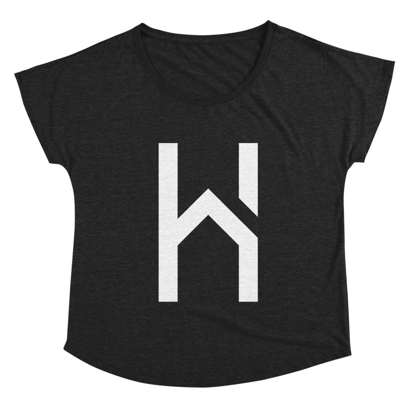 The H in House Women's Scoop Neck by HouseMade