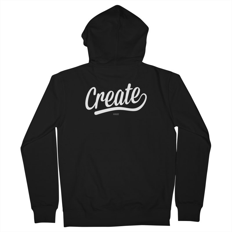 Create Women's French Terry Zip-Up Hoody by HouseMade