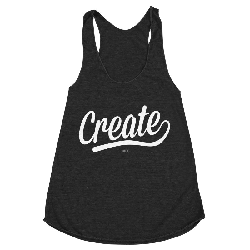 Create Women's Racerback Triblend Tank by HouseMade