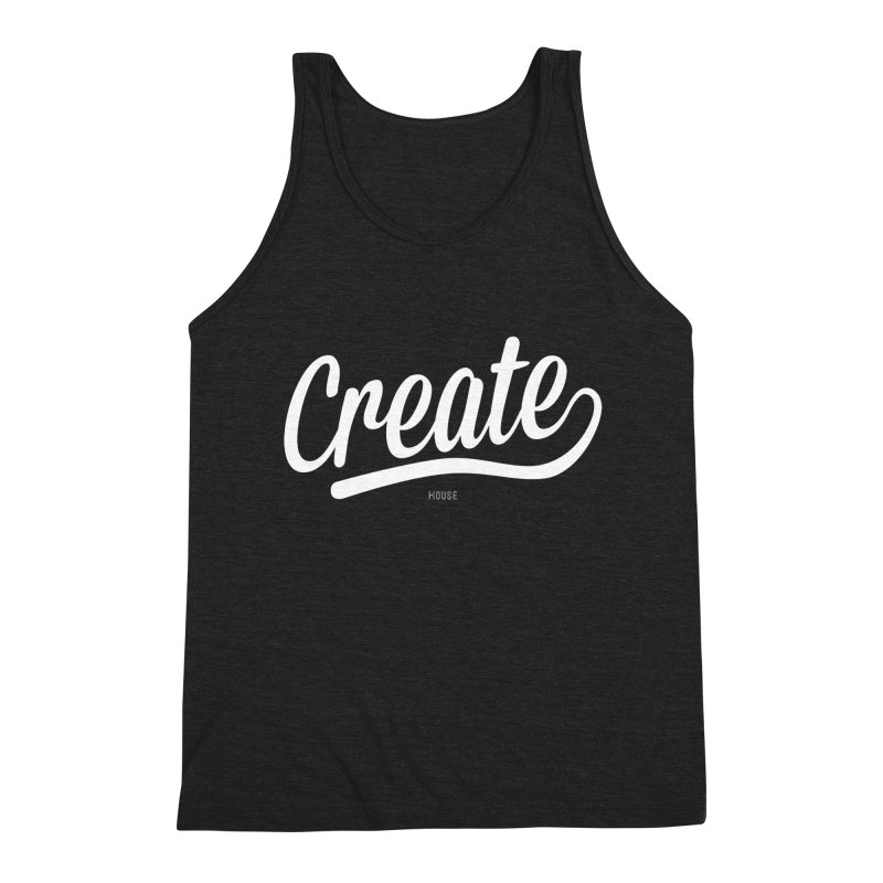 Create Men's Triblend Tank by HouseMade