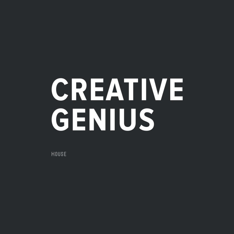 Creative Genius Men's Sweatshirt by HouseMade