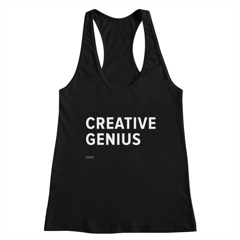 Creative Genius Women's Racerback Tank by HouseMade