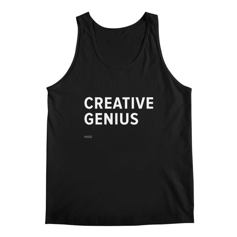 Creative Genius Men's Regular Tank by HouseMade