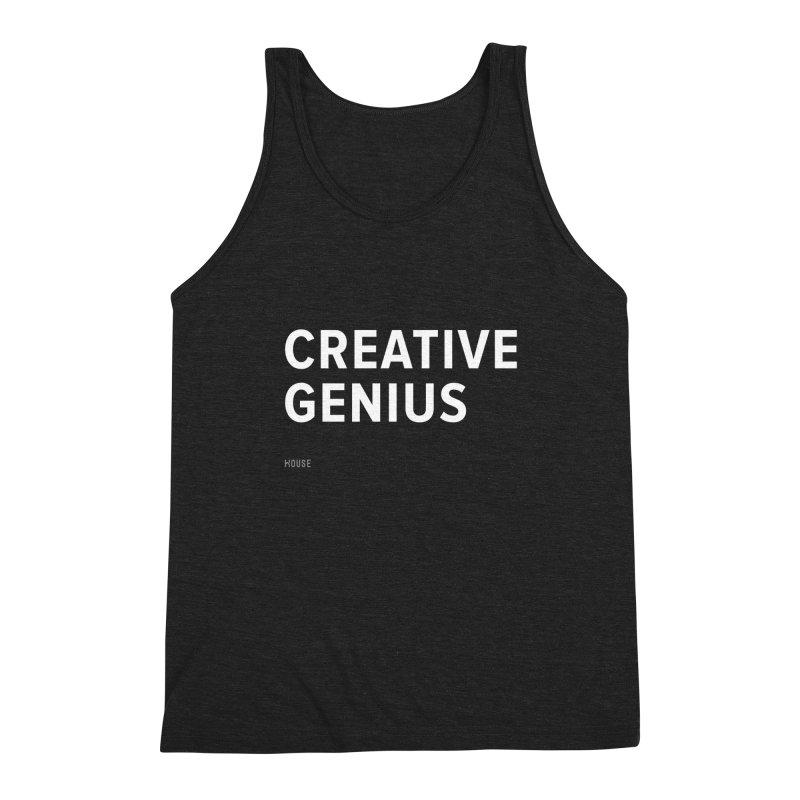 Creative Genius Men's Triblend Tank by HouseMade