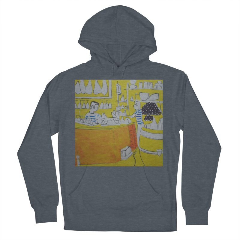 Barcelona Art Men's Pullover Hoody by hrbr's Artist Shop
