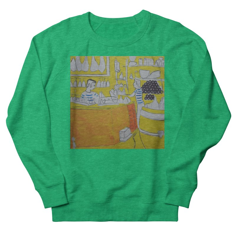 Barcelona Art Women's Sweatshirt by hrbr's Artist Shop
