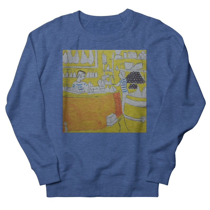 Barcelona Art Men's Sweatshirt by hrbr's Artist Shop
