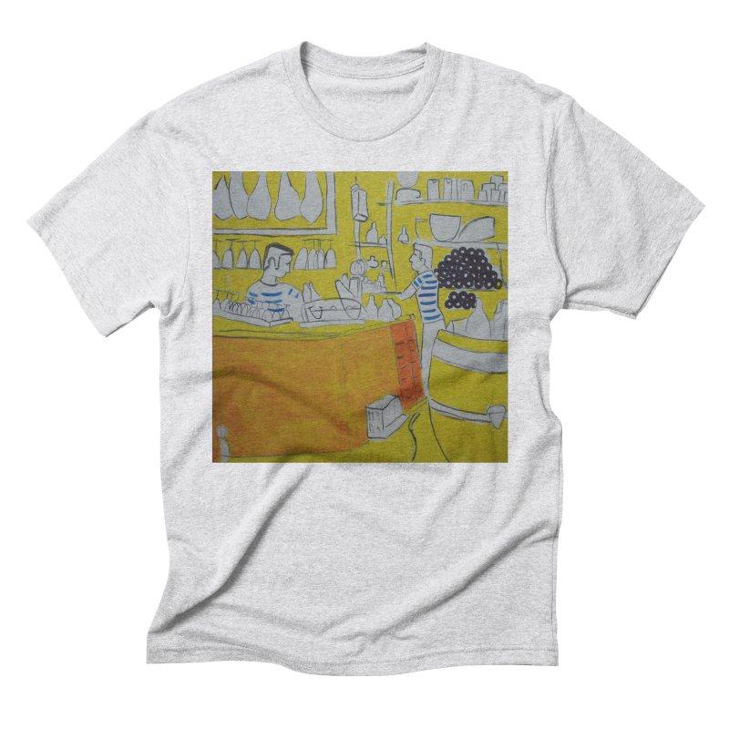 Barcelona Art Men's T-Shirt by hrbr's Artist Shop