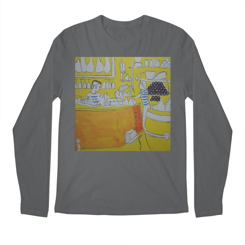 Barcelona Art Men's Longsleeve T-Shirt by hrbr's Artist Shop