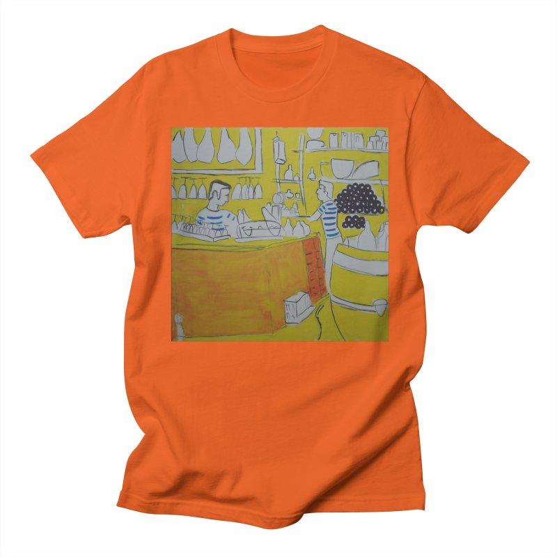 Barcelona Art Men's Regular T-Shirt by hrbr's Artist Shop