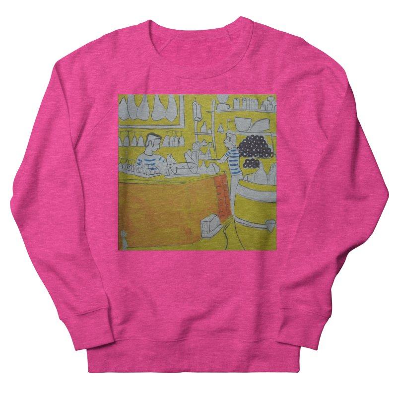 Barcelona Art Women's Sweatshirt by hrbr's Artist Shop