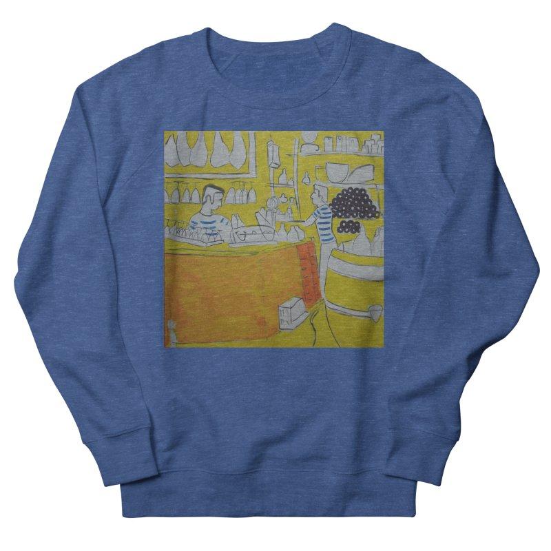 Barcelona Art Men's Sweatshirt by hrbr's Artist Shop