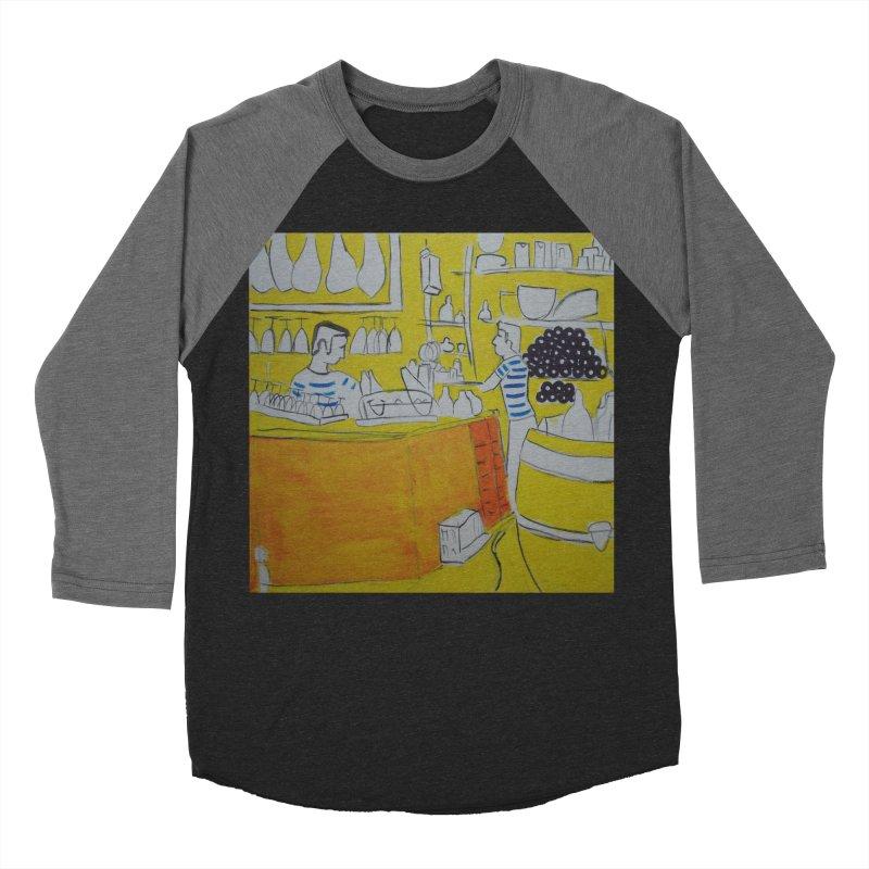 Barcelona Art Women's Baseball Triblend T-Shirt by hrbr's Artist Shop