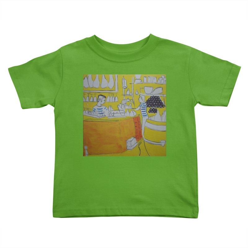 Barcelona Art Kids Toddler T-Shirt by hrbr's Artist Shop