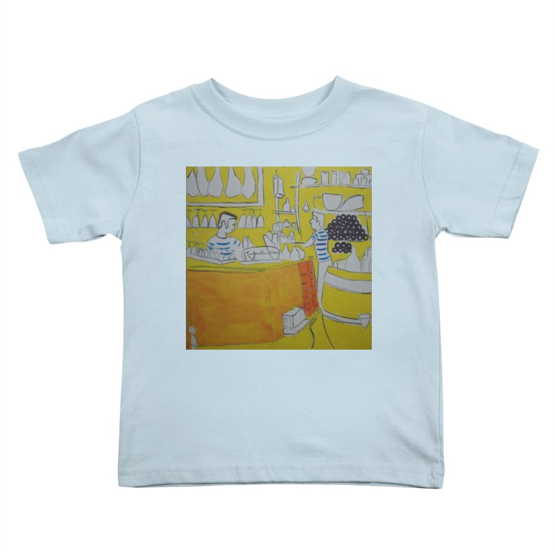 Barcelona Art Kids Toddler T-Shirt by hrbr's Artist Shop