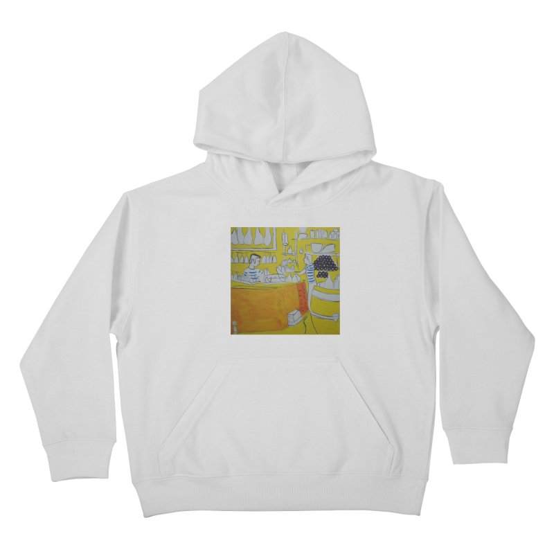 Barcelona Art Kids Pullover Hoody by hrbr's Artist Shop