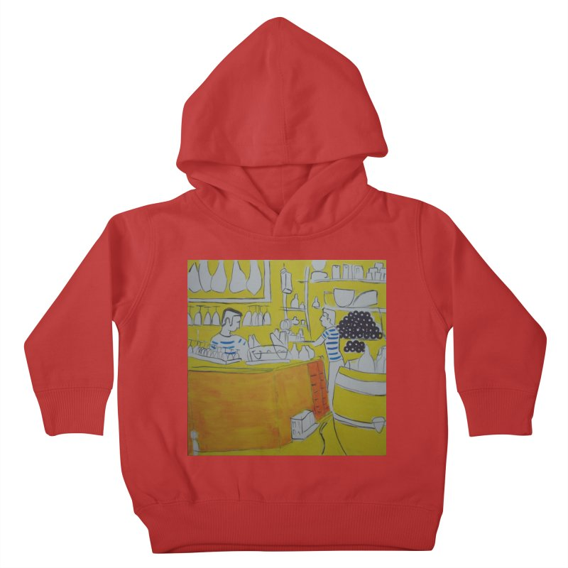 Barcelona Art Kids Toddler Pullover Hoody by hrbr's Artist Shop