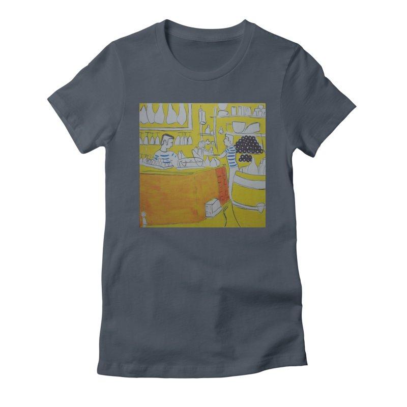 Barcelona Art Women's T-Shirt by hrbr's Artist Shop