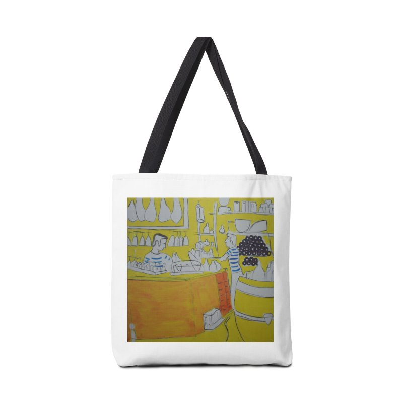 Barcelona Art Accessories Bag by hrbr's Artist Shop