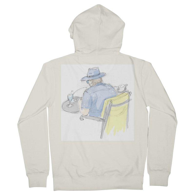 Kavkaz Men's Zip-Up Hoody by hrbr's Artist Shop