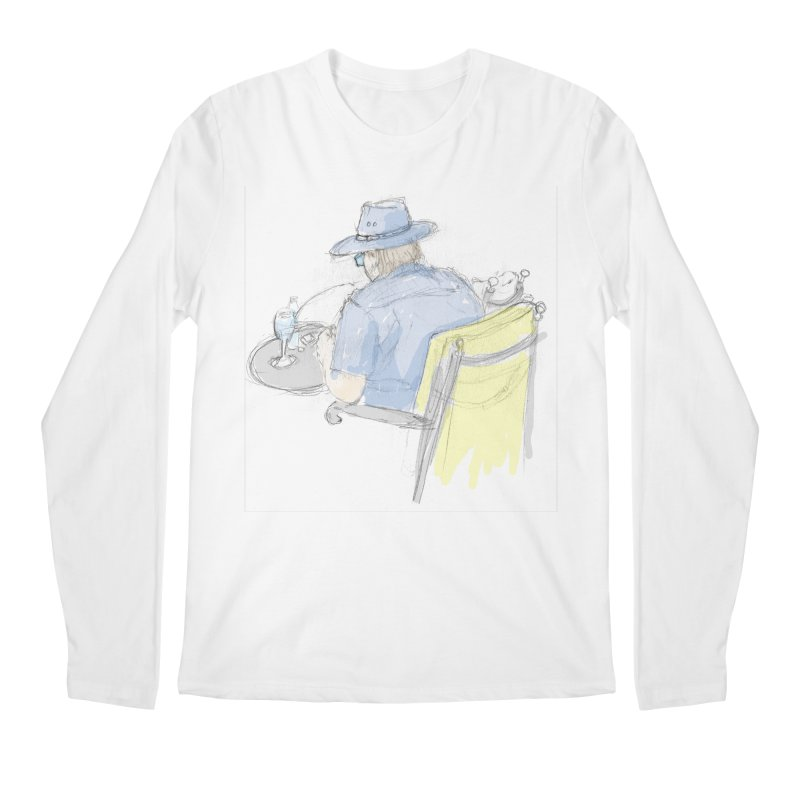 Kavkaz Men's Regular Longsleeve T-Shirt by hrbr's Artist Shop