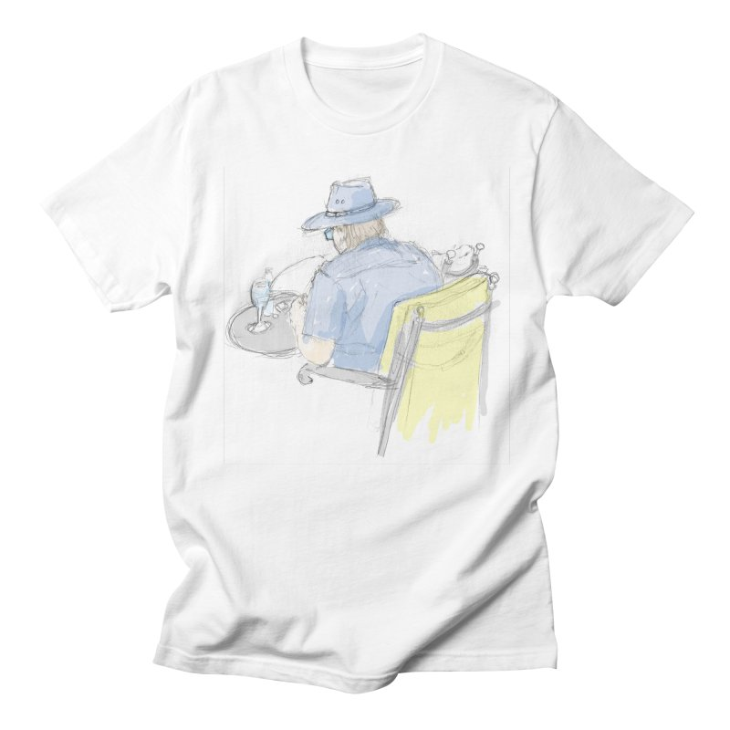 Kavkaz in Men's Regular T-Shirt White by hrbr's Artist Shop