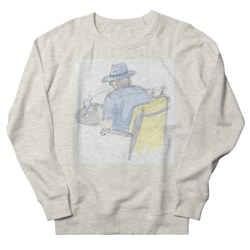 Kavkaz Men's French Terry Sweatshirt by hrbr's Artist Shop