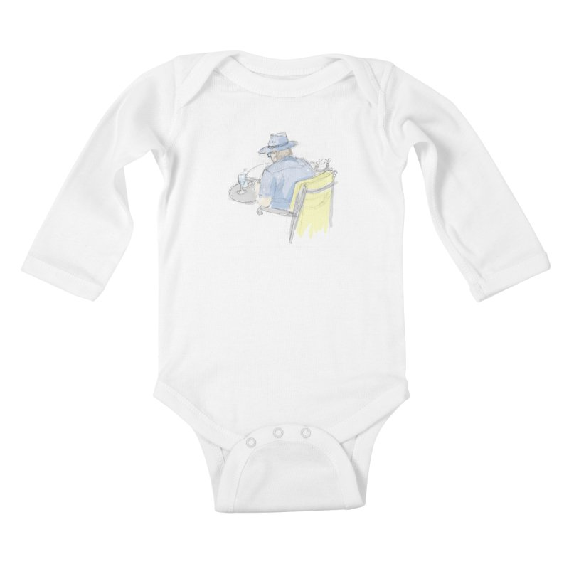 Kavkaz Kids Baby Longsleeve Bodysuit by hrbr's Artist Shop
