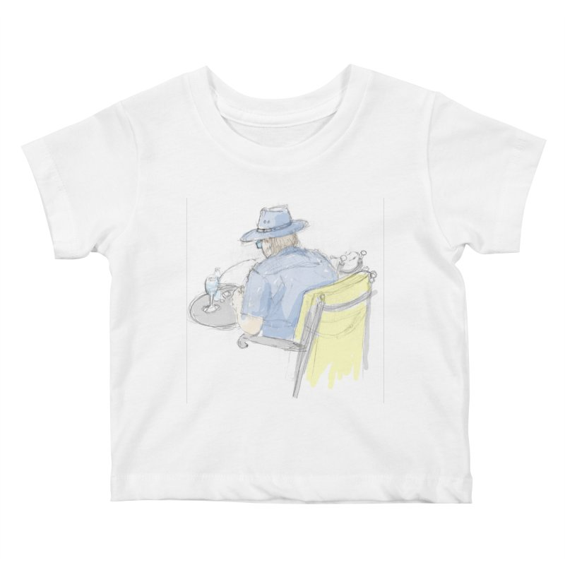 Kavkaz Kids Baby T-Shirt by hrbr's Artist Shop