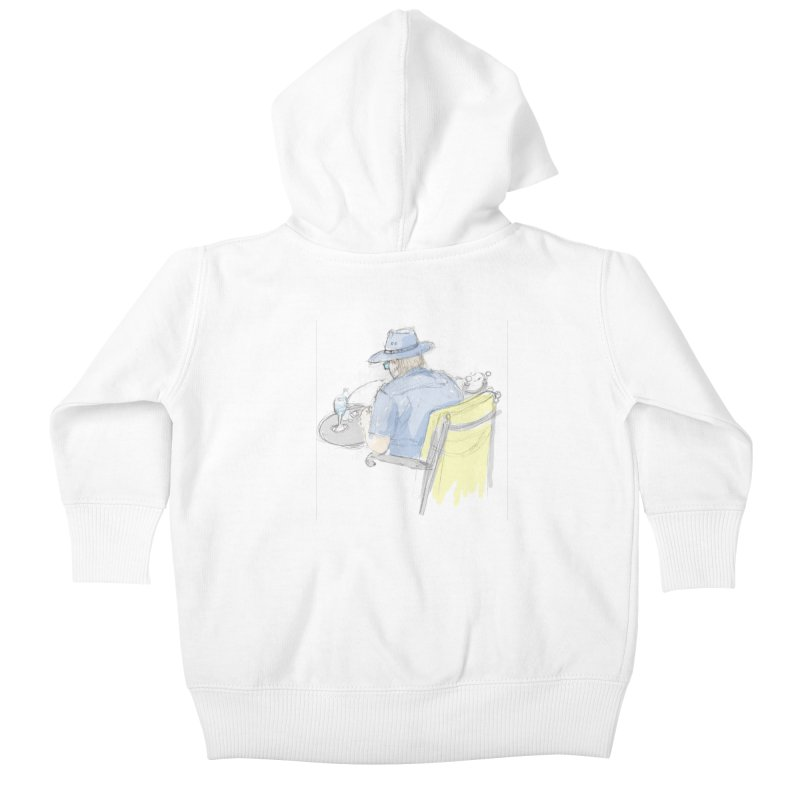 Kavkaz Kids Baby Zip-Up Hoody by hrbr's Artist Shop