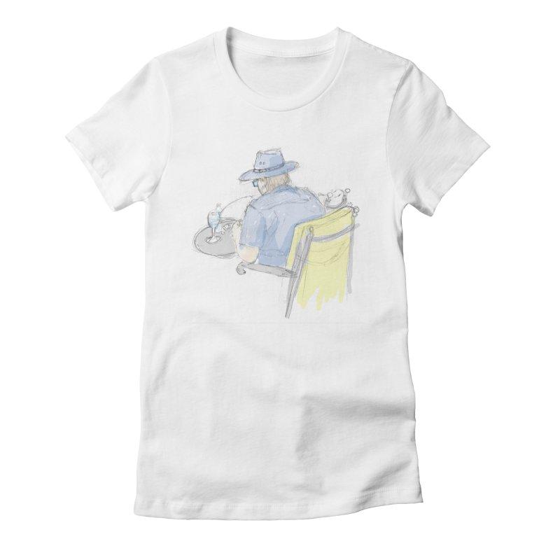 Kavkaz Women's Fitted T-Shirt by hrbr's Artist Shop