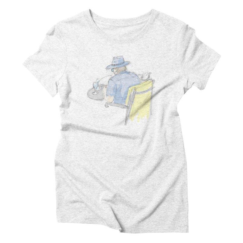 Kavkaz Women's Triblend T-shirt by hrbr's Artist Shop
