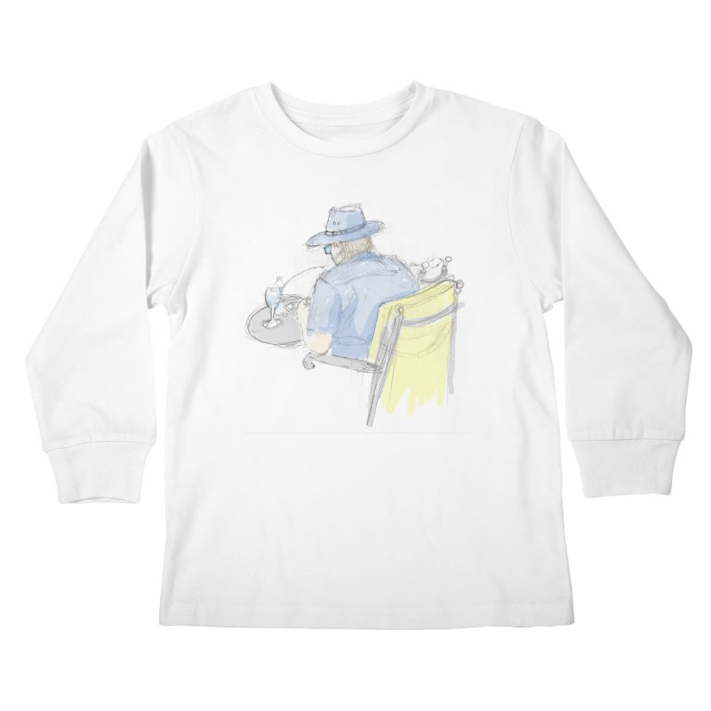 Kavkaz Kids Longsleeve T-Shirt by hrbr's Artist Shop