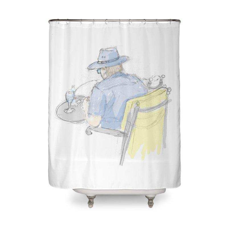 Kavkaz Home Shower Curtain by hrbr's Artist Shop