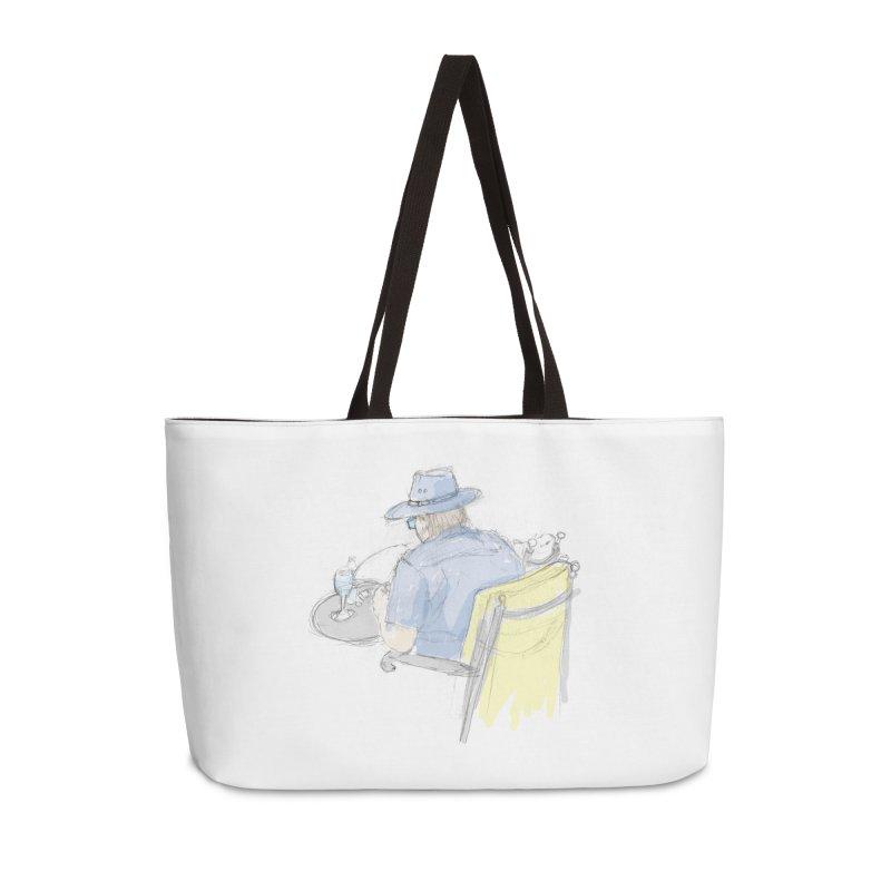 Kavkaz Accessories Weekender Bag Bag by hrbr's Artist Shop