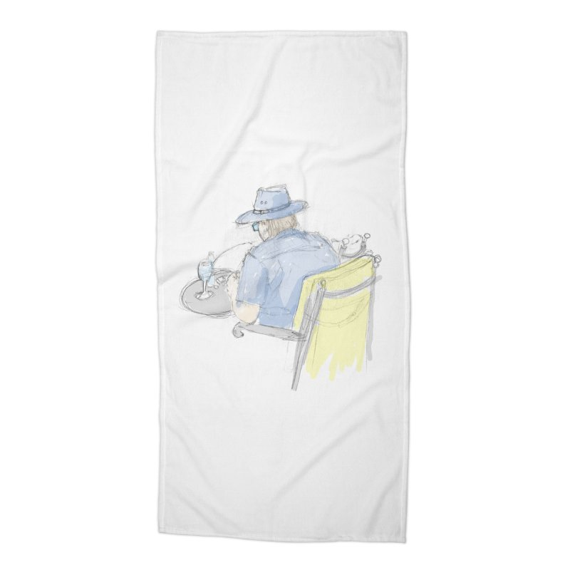 Kavkaz Accessories Beach Towel by hrbr's Artist Shop