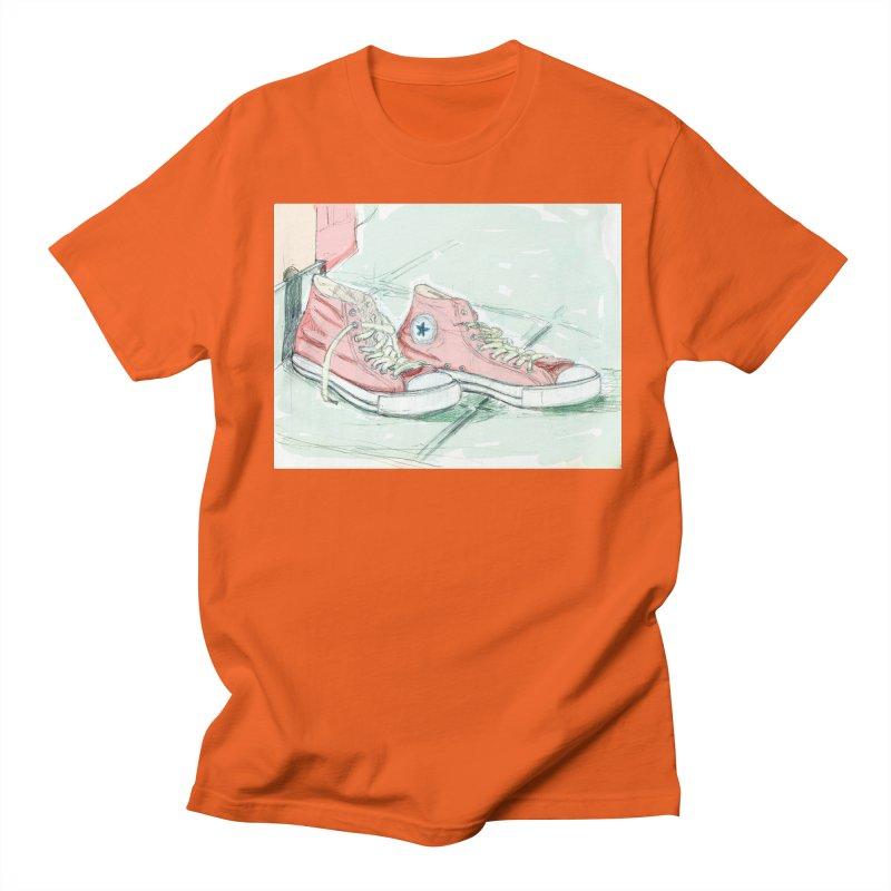 Red All Star Men's T-Shirt by hrbr's Artist Shop