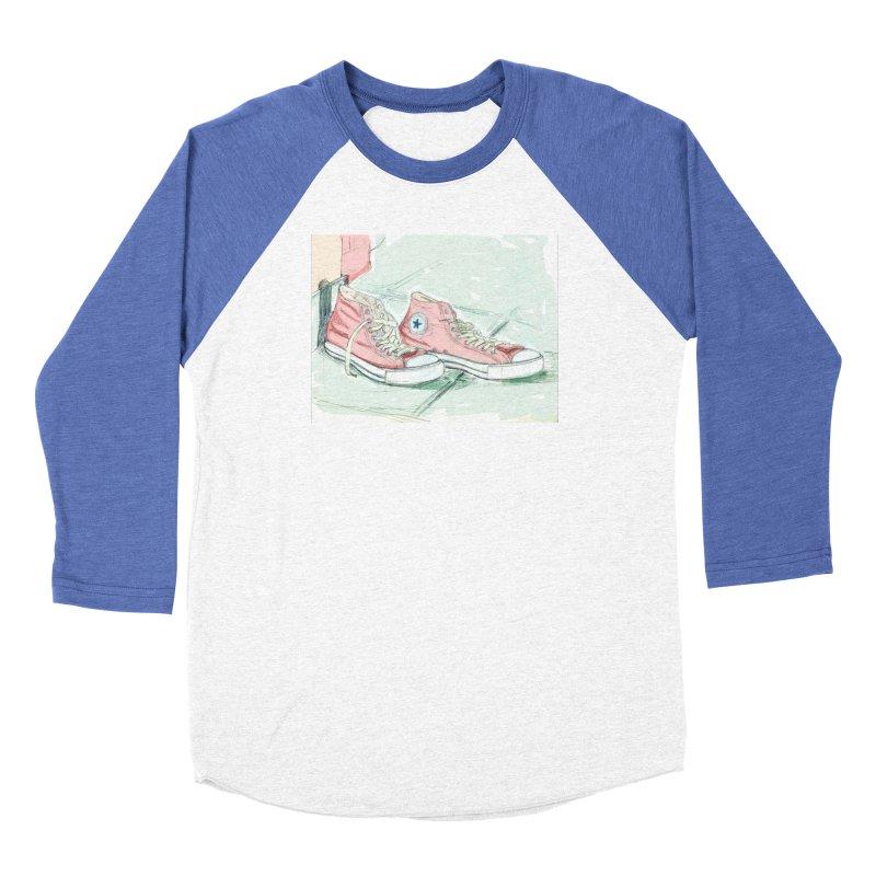 Red All Star Women's Longsleeve T-Shirt by hrbr's Artist Shop