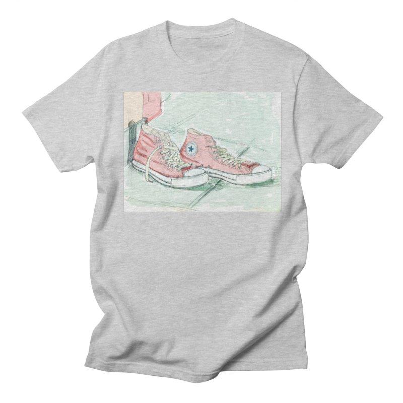 Red All Star Men's Regular T-Shirt by hrbr's Artist Shop