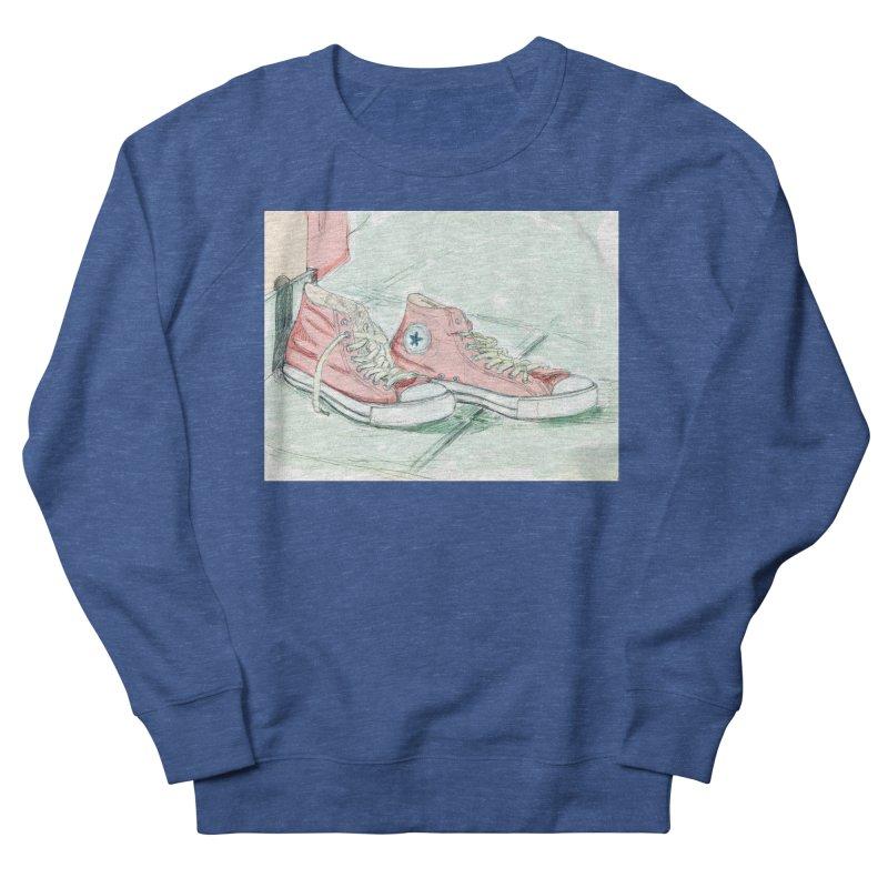 Red All Star Women's Sweatshirt by hrbr's Artist Shop