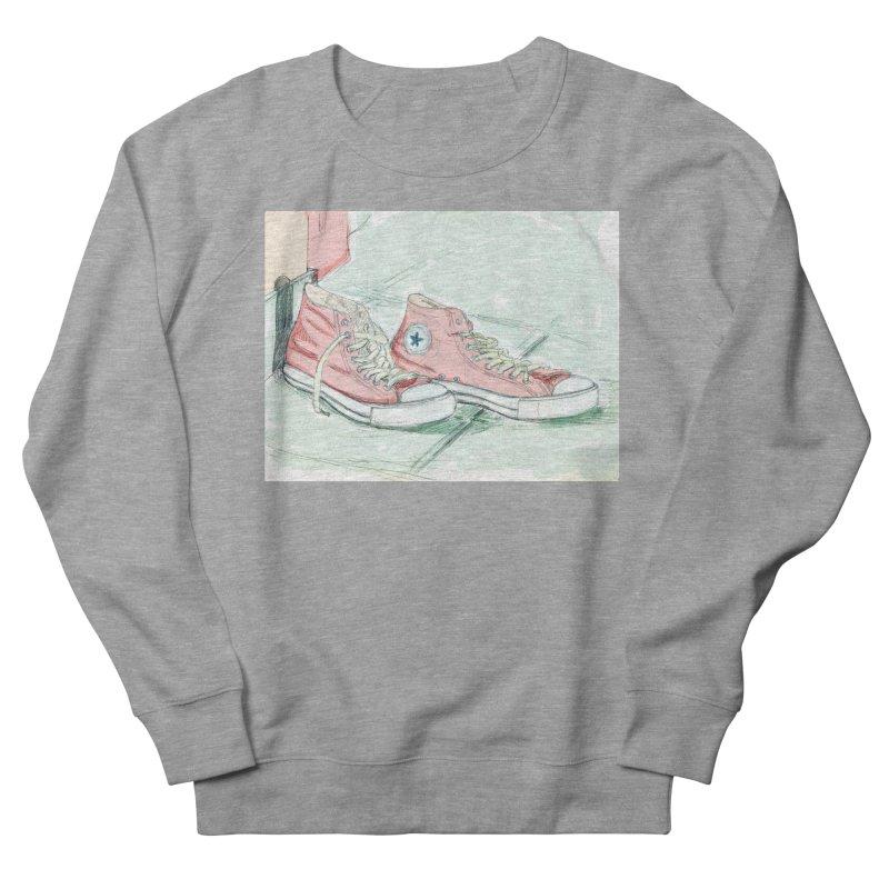 Red All Star Men's Sweatshirt by hrbr's Artist Shop