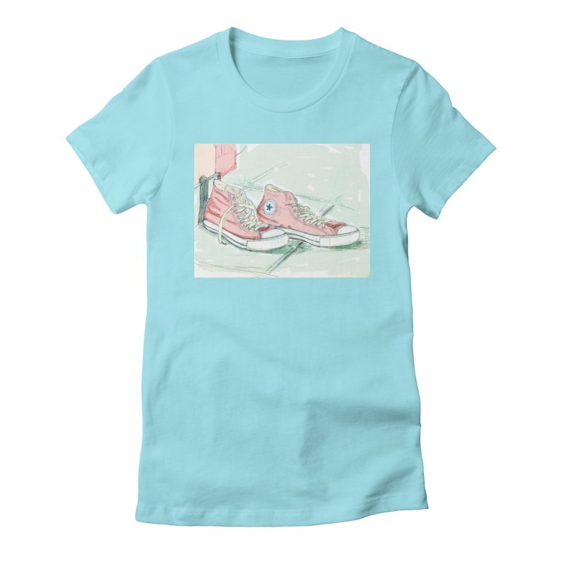 Red All Star Women's T-Shirt by hrbr's Artist Shop