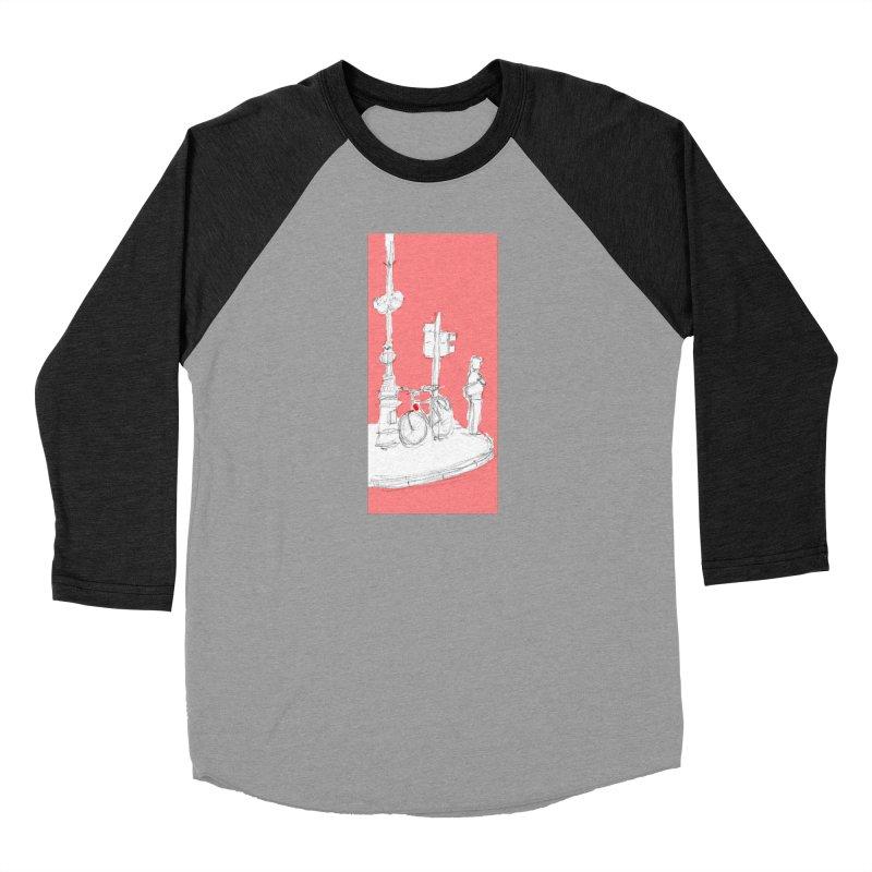 Bike Men's Baseball Triblend Longsleeve T-Shirt by hrbr's Artist Shop