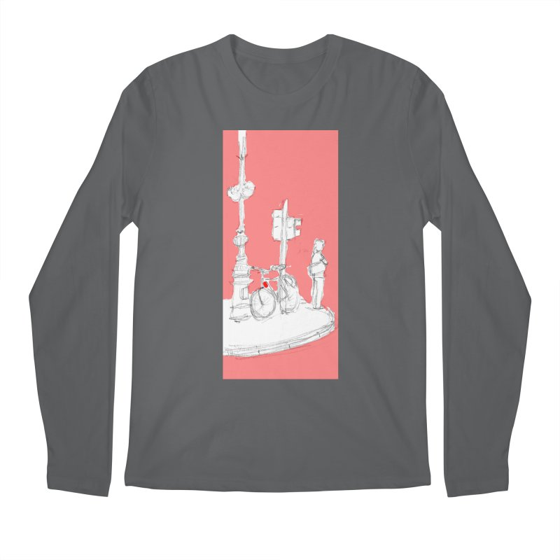 Bike Men's Longsleeve T-Shirt by hrbr's Artist Shop