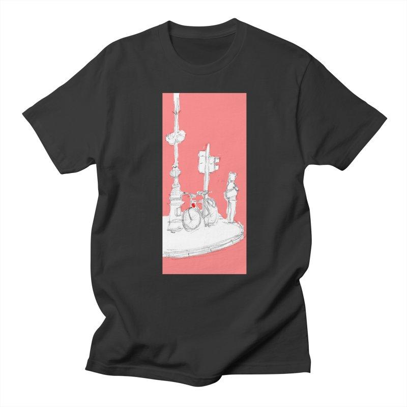 Bike Men's Regular T-Shirt by hrbr's Artist Shop