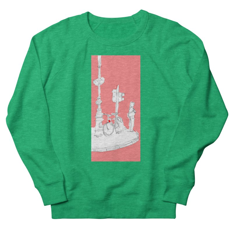 Bike Women's Sweatshirt by hrbr's Artist Shop