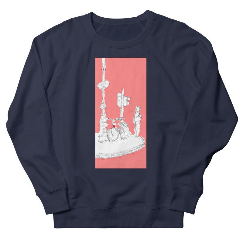 Bike Women's French Terry Sweatshirt by hrbr's Artist Shop