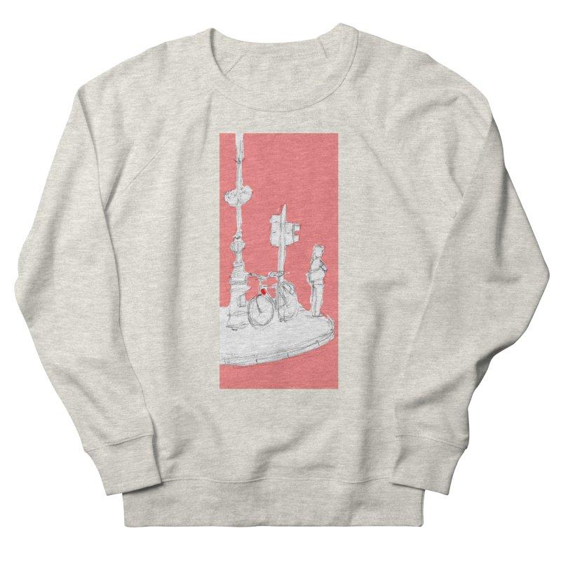 Bike Men's French Terry Sweatshirt by hrbr's Artist Shop