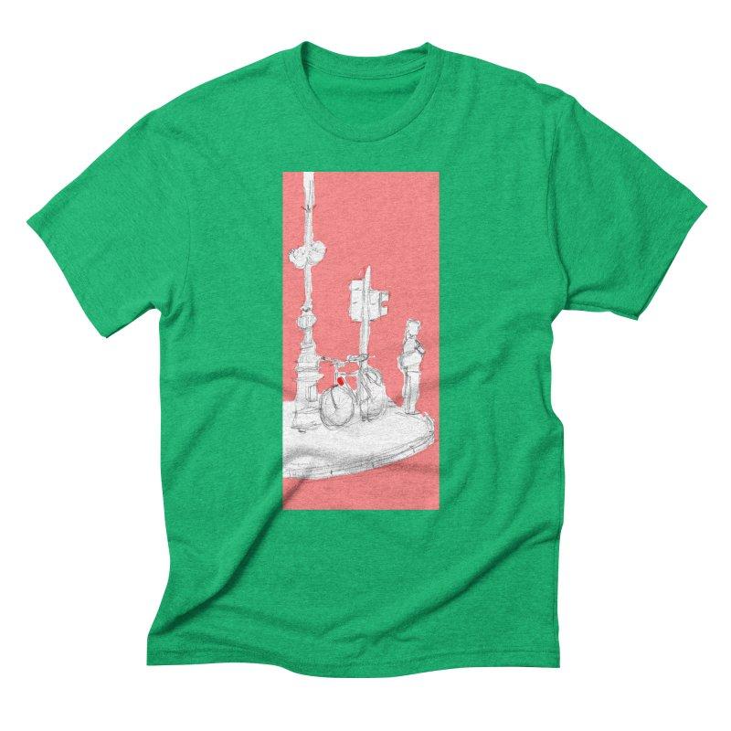 Bike Men's T-Shirt by hrbr's Artist Shop